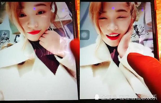 Cô bạn gái của Tiểu Hùng có nhan sắc xinh đẹp ở trên mạng.
