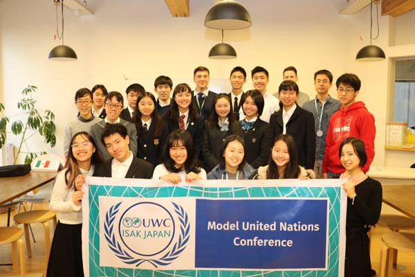 Hội nghị Mô phỏng liên hợp quốcThuận An sáng lập tại trường UWC