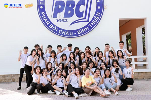 Lớp 12C4 trường THPT Phan Bội Châu (Bình Thuận)