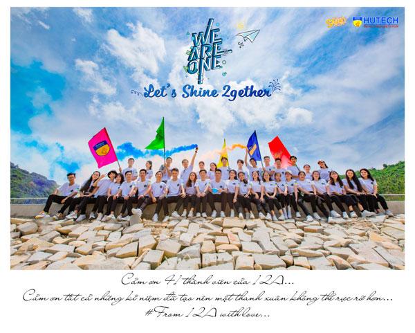 Kỷ yếu của lớp 12A trường THPT Lại Sơn (Kiên Giang) 'kể' về một thanh xuân rực rỡ