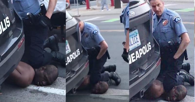 Viên cảnh sát có hành động gây phẫn nộ