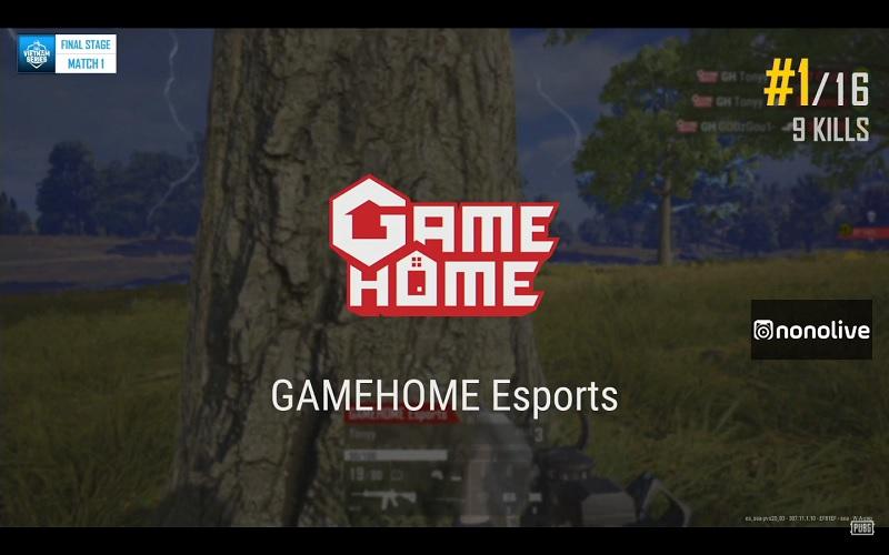 Top 1 9 kills với màn đi bo ấn tượng của GameHome Esports.