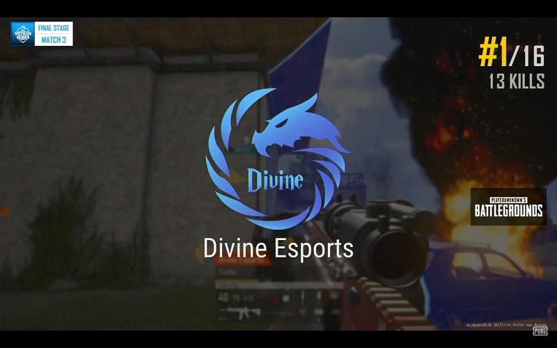 Divine Esports dành top 1 với 13 kills đầy ấn tượng.