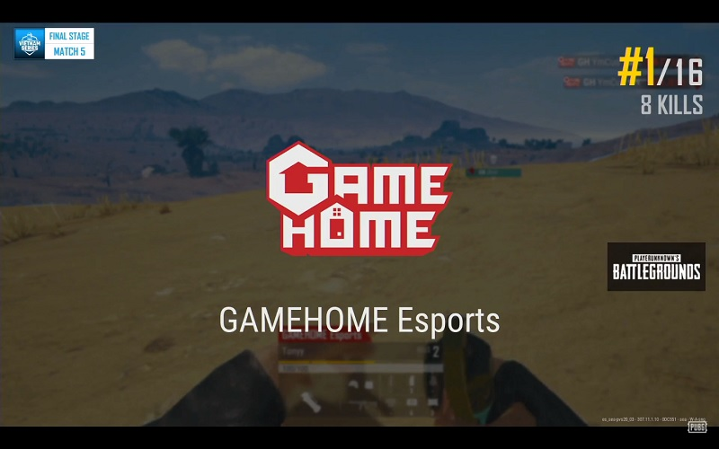 Thêm 1 Winner Winner Chicken Dinner cho GameHome Esports.