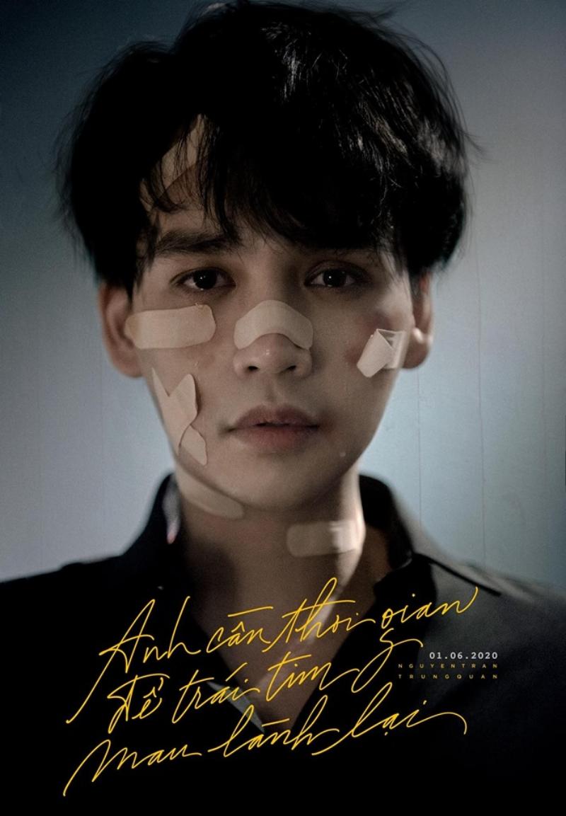 Xuất hiện đầy thương tích trong tấm poster dự án mới, Nguyễn Trần Trung Quân mang đến điều gì trong lần comeback này? 0
