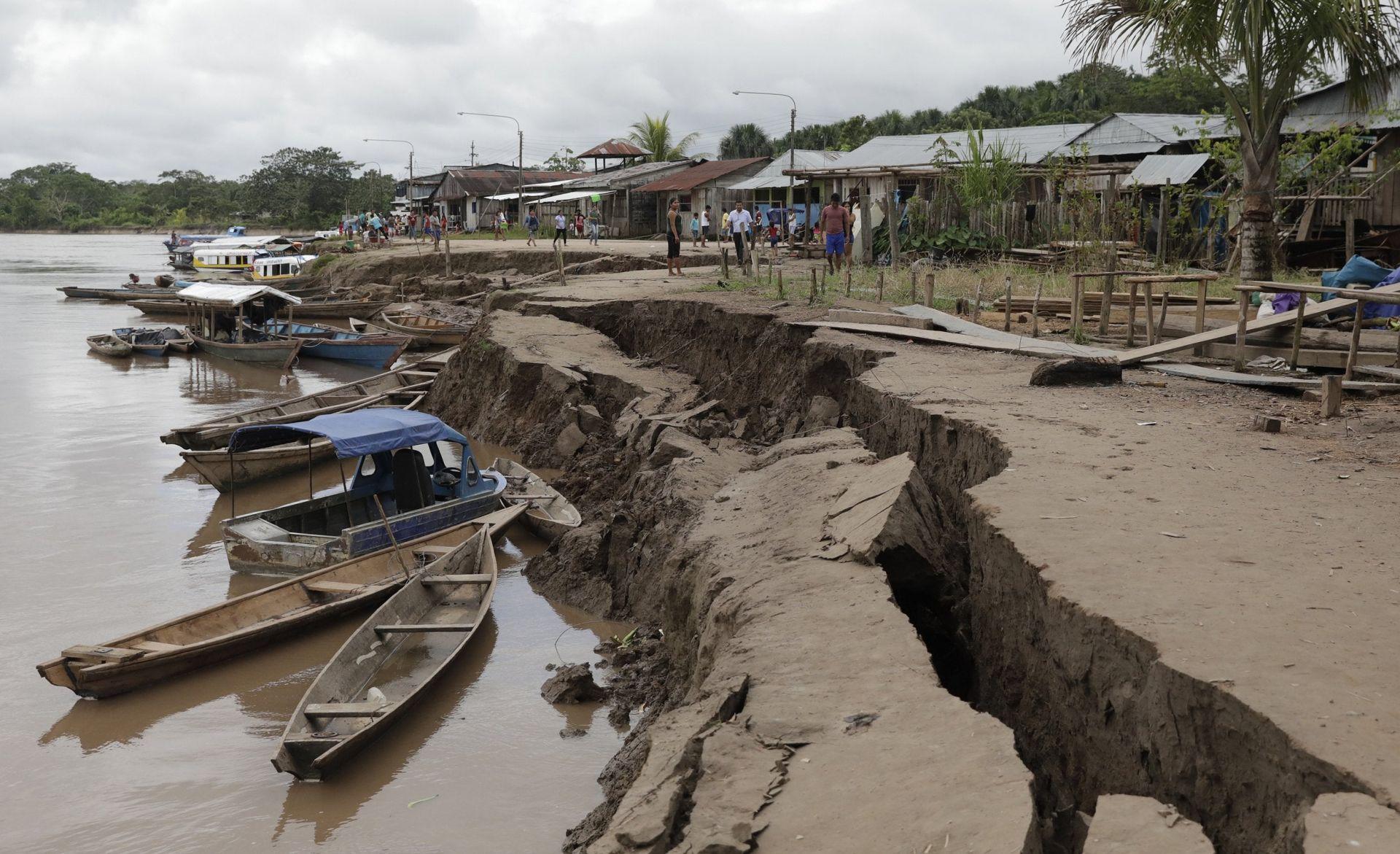 Động đất mạnh tại Peru, chưa ghi nhận thiệt hại về người 0