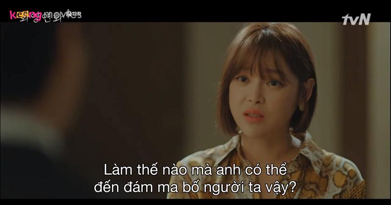 Seo Kyung khó chịu khi chồng đến dự đám tang của bố tình cũ.