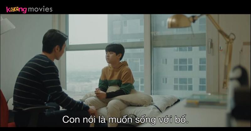 Vì nghĩ mình sẽ cản trở hạnh phúc của mẹ,Young Min quyết định sống với bố. Dù có cậu bé mẹ sẽ hạnh phúc hơn nhưng Young Min lại muốn mẹ kết hôn như một điều tốt nhất.
