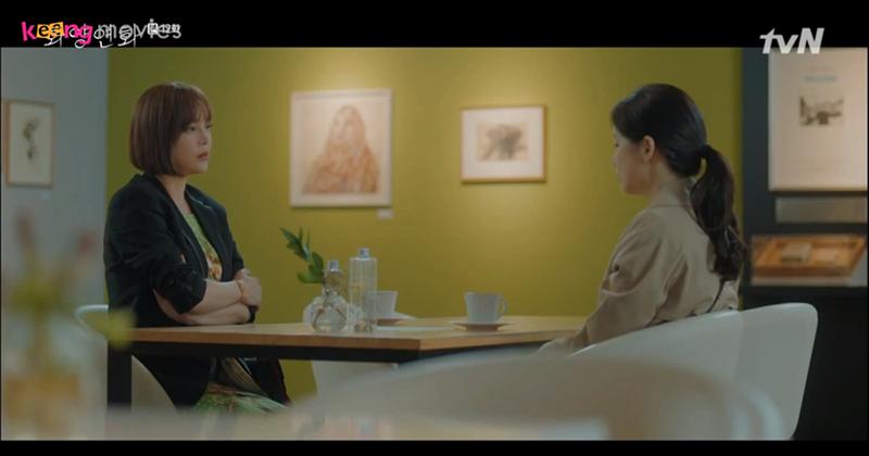 Ji Soo đã biết mọi việc thông qua Seo Kyung, nhưng cô vẫn không muốn Jae Hyun biết điều này.