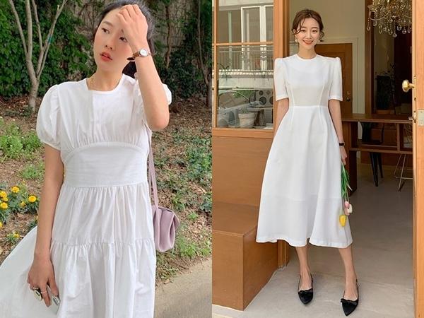 Váy trắng tinh khôi cứ vào hè lại hot xình xịch và năm nay cũng không ngoại lệ. Nếu là fan của kiểu váy này, bạn có thể tha hồ biến hóa bởi váy trắng khá đa dạng về mẫu mã, kiểu dáng. Với váy trắng, dù bạn diện kiểu gì thì cứ yên tâm là cũng sẽ trẻ ra vài tuổi nhờ sự tươi tắn, trong trẻo vốn có.
