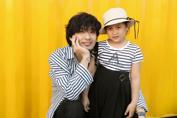 Tuấn Trần tình cảm cùng 'con gái' Ngân Chi trong bộ ảnh mừng Quốc tế thiếu nhi 4