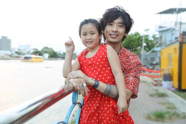 Tuấn Trần tình cảm cùng 'con gái' Ngân Chi trong bộ ảnh mừng Quốc tế thiếu nhi 7