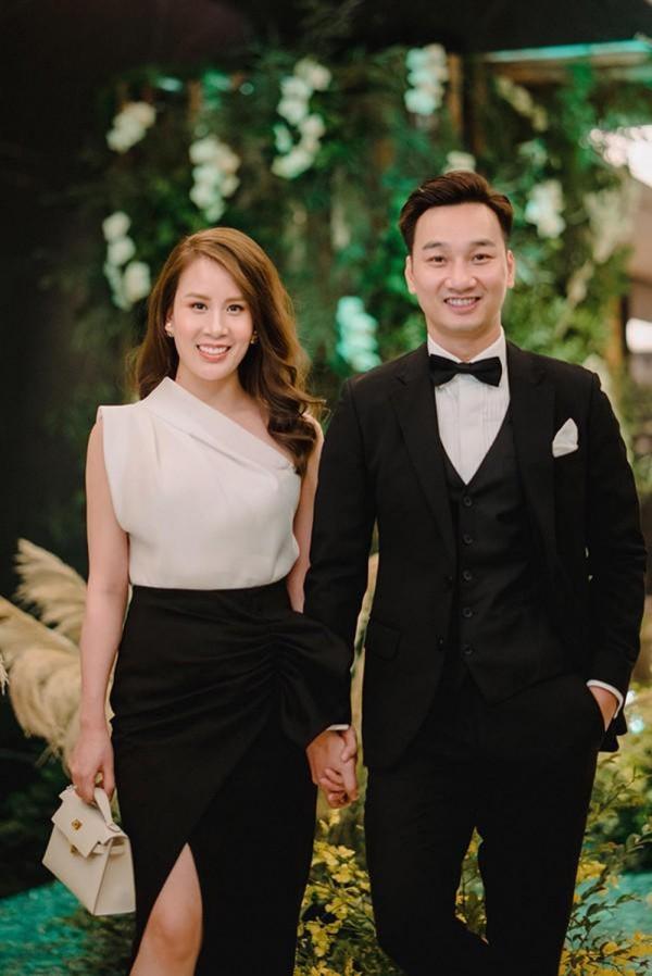 Vợ chồng MC Thành Trung