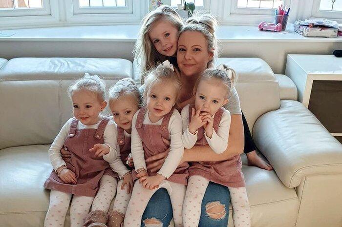 Ngỡ ngàng trước hình ảnh hiện tại của '4 bé gái trong ca sinh tư' thuộc trường hợp hiếm trên thế giới sau 3 năm gây 'bão' cộng đồng mạng 5