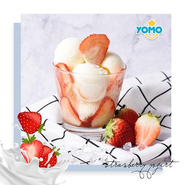 """Sữa chua kết hợp trái cây tươi luôn là món """"best seller"""" tại Yomo"""