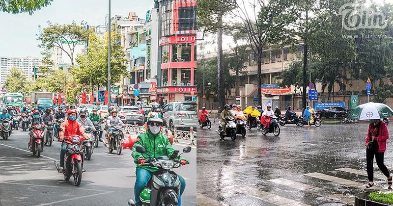 Tháng 6, Sài Gòn vào mùa 'sáng nắng, chiều mưa'...