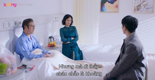 Tả Vũ Lâm ra mắt bố mẹ vợ tương lai trong bệnh viện.