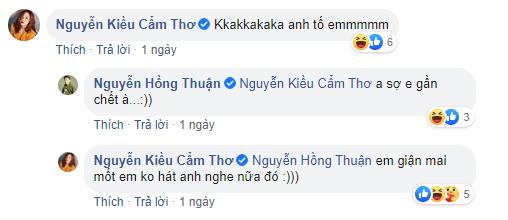 Puka và Nguyễn Hồng Thuận đối đáp khiến fan 'cười lăn cười bò'.