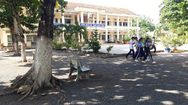 Trường THCS Phước Minh - Ảnh: Thanh niên.