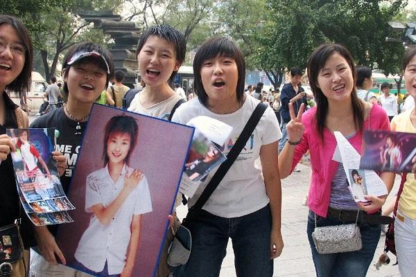 Rất nhiều fangirl Trung Quốc có xu hướng thích các thần tượng nhỏ tuổi.