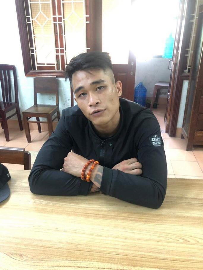 Lê Thanh Lâm tại cơ quan công an