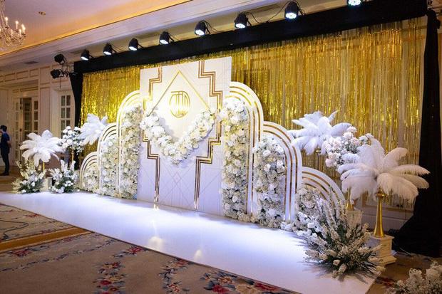 Không gian tổ chức xa hoa ởkhách sạn 5 sao nơi tổ chức buổi lễ ăn hỏi