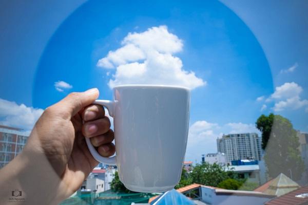 'Bữa tiệc đám mây' độc đáo trên bầu trời Sài Gòn khiến dân mạng thích thú 1