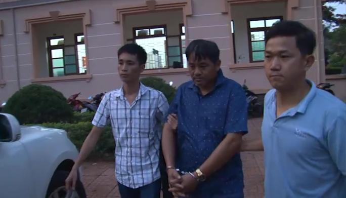 Ông Đỗ Văn Minh bị bắt giữ khi đang lẩn trốn ở Bình Phước