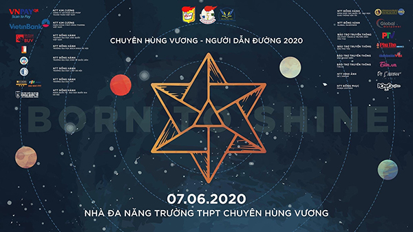 Poster chương trình 'Chuyên Hùng Vương - Người dẫn đường'.