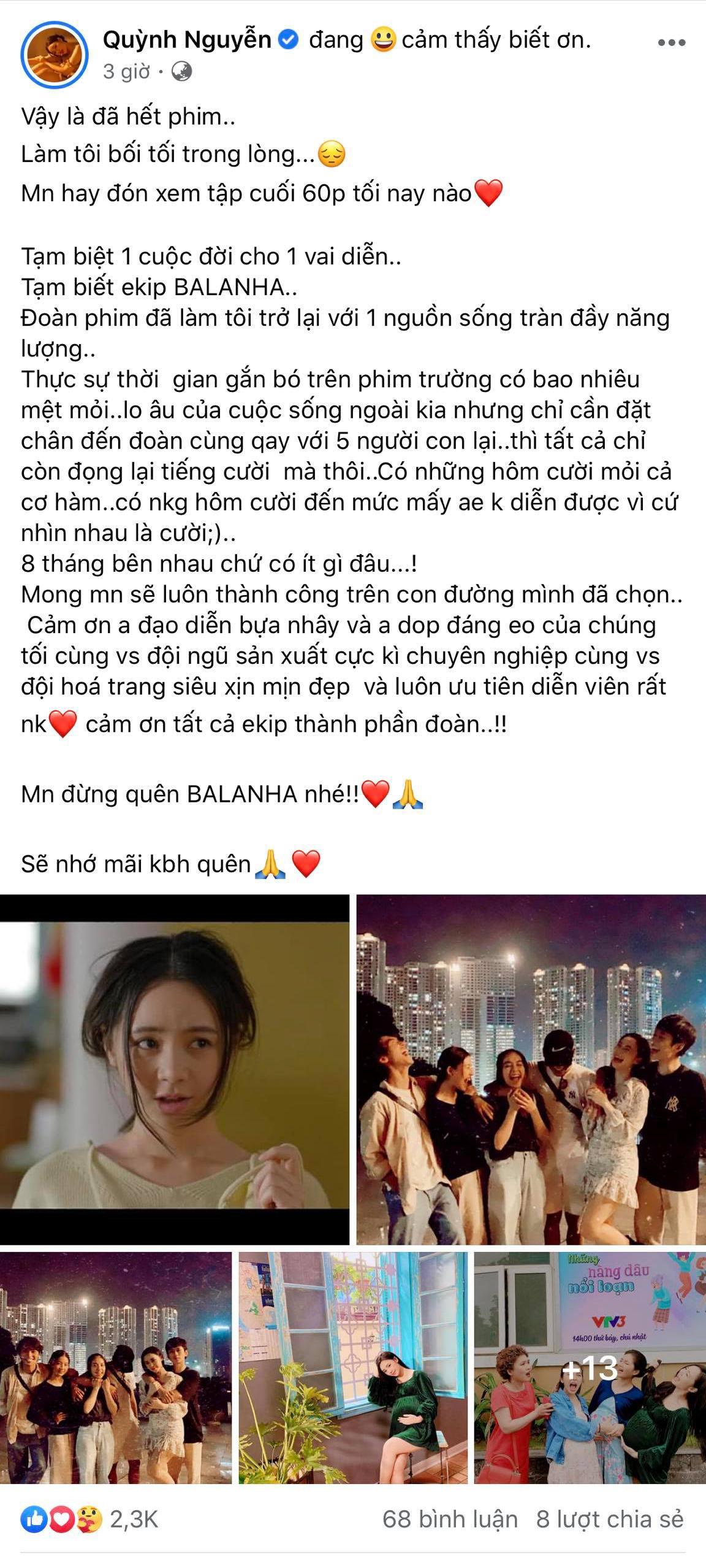 Bài chia sẻ của Quỳnh Kool cũng đậm chất gợi nhớ kỷ niệm đáng yêu bên Nhà trọ Balanha