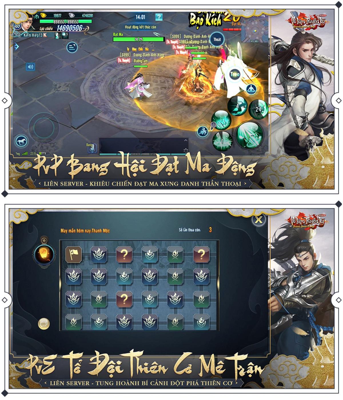 Sáng ngày 6/3, game thủ VLTK Mobile chính thức chạm tay vào phiên bản mới Dương Danh Tứ Hải 2