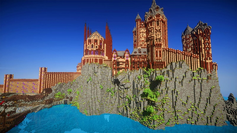 Minecraft: Top 10 công trình kỳ vĩ nhất trong game 1