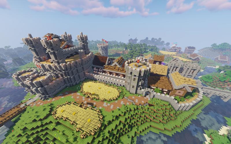 Minecraft: Top 10 công trình kỳ vĩ nhất trong game 9