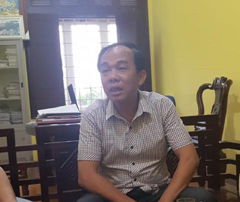 Ông Nguyễn Huy Sơn trong một lần trao đổi với báo chí (Ảnh PLVN).