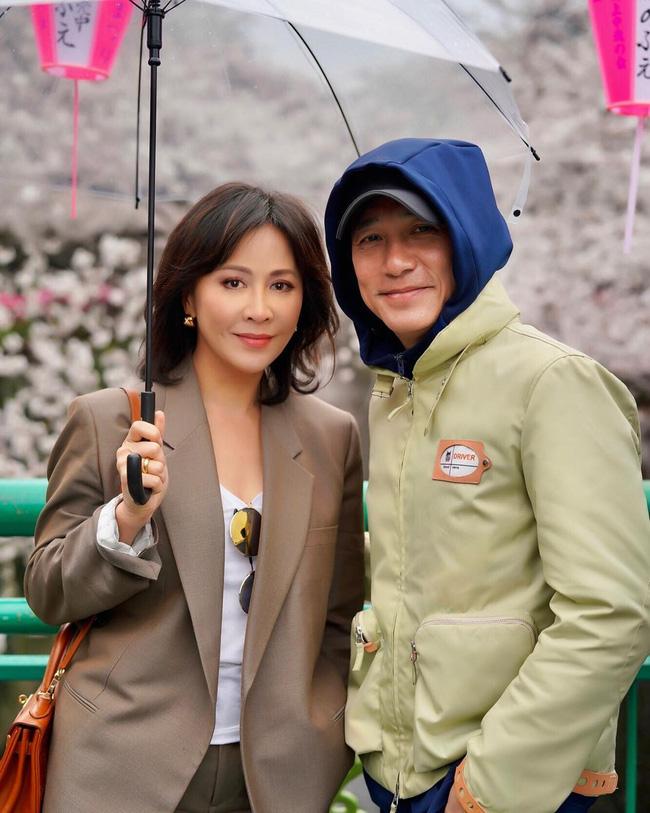 Lưu Gia Linh giờ có cuộc sống hạnh phúc bên ông xã Lương Triều Vỹ.