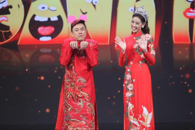 Khánh Vân và Chí Tài.