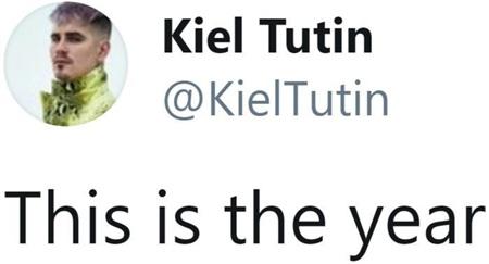 'Năm nay chính là năm đó' – Kiel Tutin.