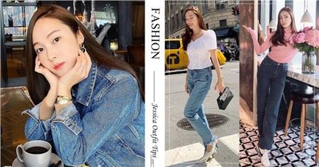 Kỹ năng chọn giày của Jessica khiến ai nấy đều bái phục: Cao có met 6 mà nhìn không thua gì met 7 0