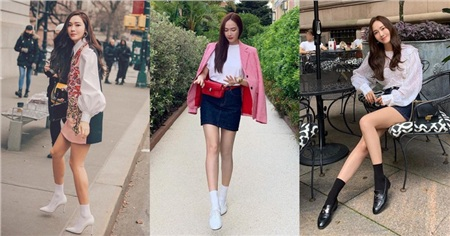 Kỹ năng chọn giày của Jessica khiến ai nấy đều bái phục: Cao có met 6 mà nhìn không thua gì met 7 3