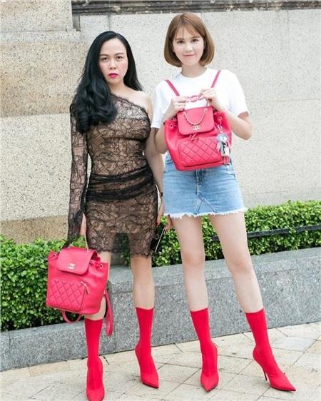 Đang duy trì phong độ mặc đẹp, Phượng Chanel lại 'tự tay đạp đổ' với bộ đồ xuyên thấu, sự thật là gì? 0