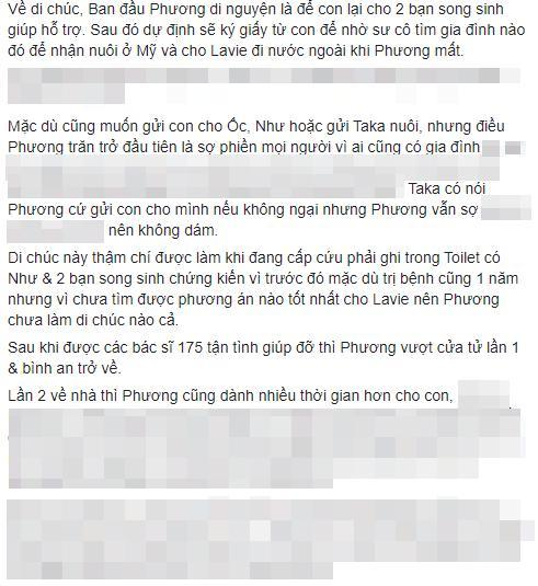 Bài chia sẻ dài của Takej Minh Huy.