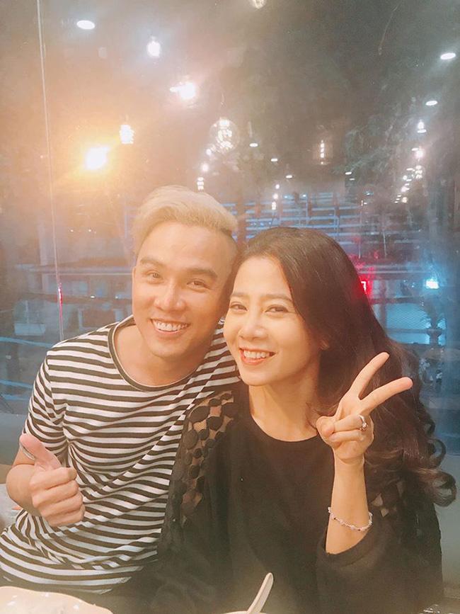 Takej Minh Huy và cố diễn viên Mai Phương.