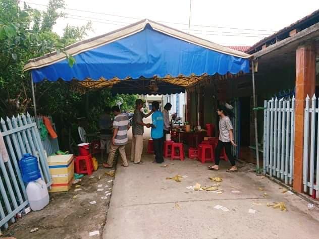 Tang thương nối tiếp tang thương tại nhà ông Hoà.