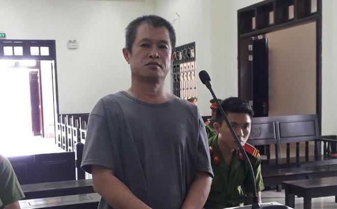 Bị cáo Nguyễn Đình Trọng tại toà ngày 23/8. Ảnh: MV