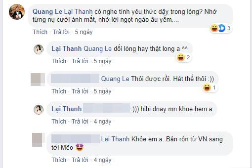 Quang Lê bất ngờ bày tỏ tình cảm với người yêu cũ, phản ứng của Thanh Bi lại gây tò mò 1