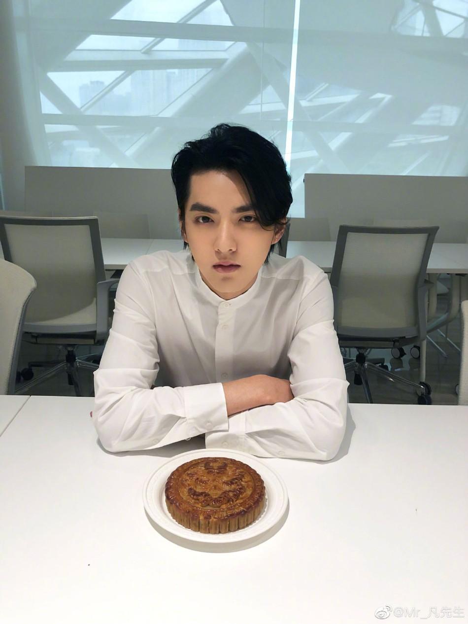 Hậu tin đồn hẹn hò, mỹ nam Ngô Diệc Phàm có màn lột xác về ngoại hình khiến các fan ngạc nhiên 5