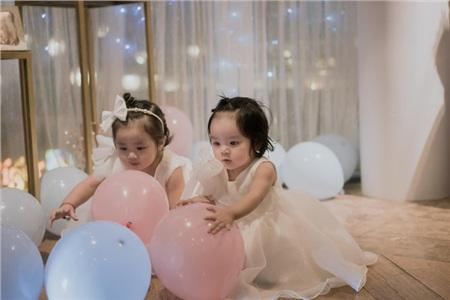 2 con gái đáng yêu của Hoài Lâm và Bảo Ngọc.