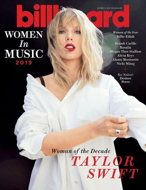 Taylor Swift được Billboard vinh danh là 'Người phụ nữ của thập kỷ'