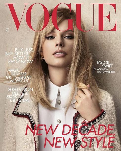 Taylor Swift trên trang bìa Vogue