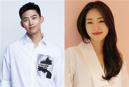 Ok Taecyeon và Lee Yeon Hee.